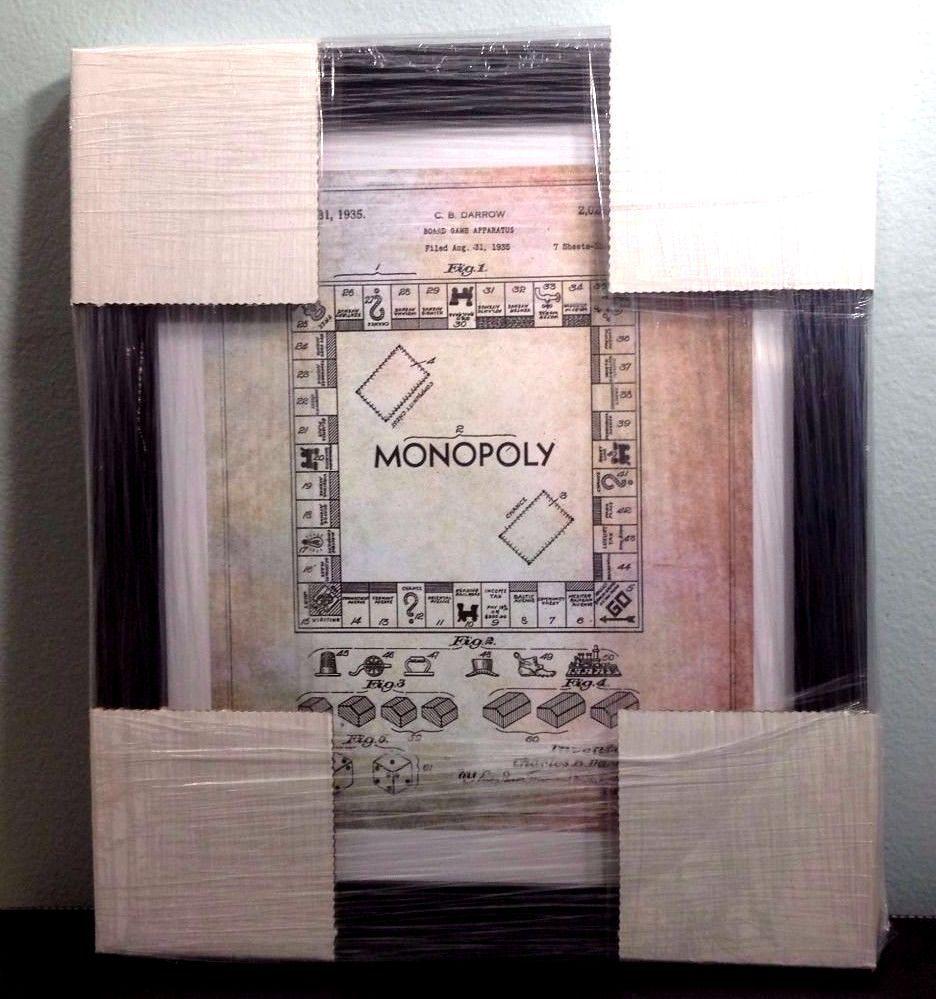 Oliver gal monopoly game 1935 framed pop art inspired blueprints 12 oliver gal monopoly game 1935 framed pop art inspired blueprints 12 x 14 wframe malvernweather Image collections