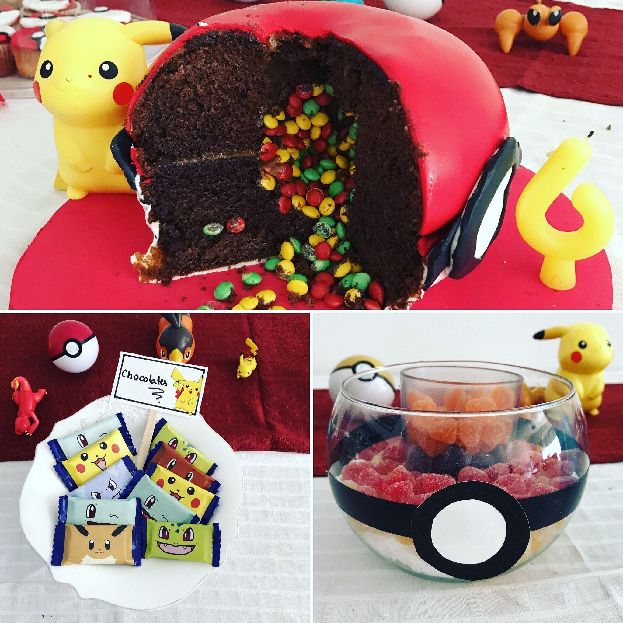 Pokemon Birthday Party Ideas Pokemon Cake Pi 241 Ata Cake