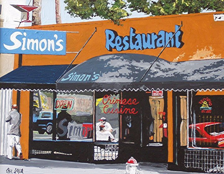 Simon S Bar And Chinese Restaurant In Sacramento I