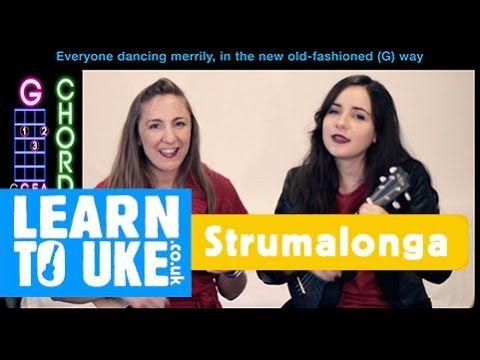 Rockin Around The Christmas Tree - Play Along Ukulele Tutorial   Ukulele tutorial, Ukulele, Rockin