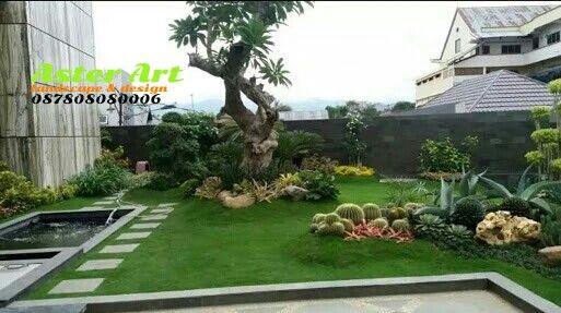 97 Ide Jasa Pembuatan Taman Jakarta, Tukang Taman Bogor | Kolam Air, Taman  Vertikal, Kolam Ikan Koi