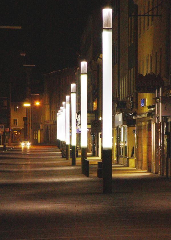 Project Leuchtstele Quot Lucky Light Quot Morpho Logic Park
