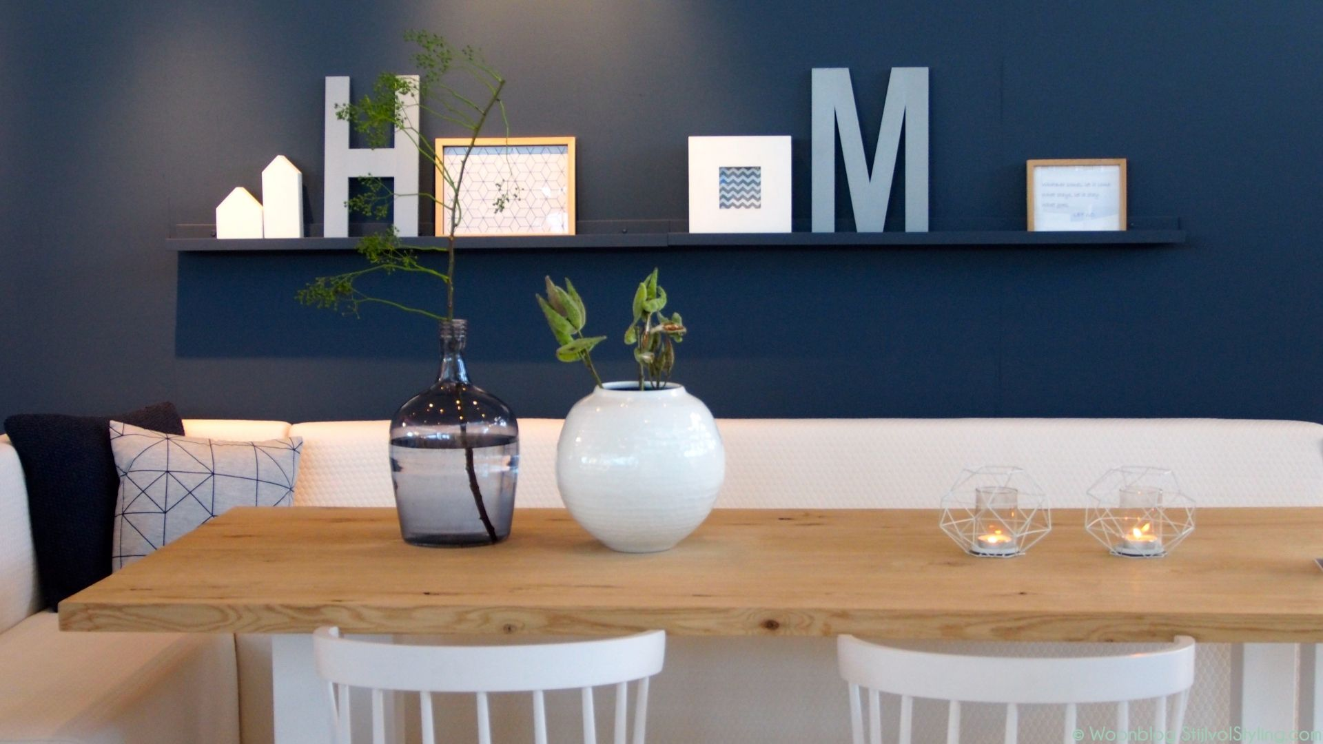 Interieur nordic and scandinavian home blue rooms