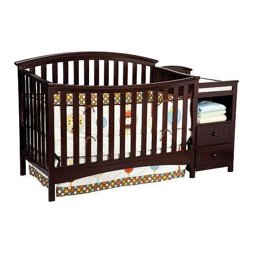 Delta Delaney Crib Changer Dark Chocolate