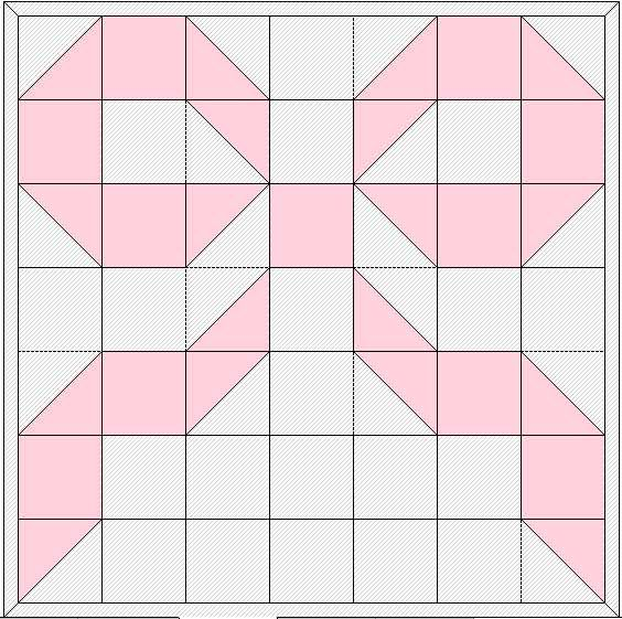 Quilt Block Patterns Used For Cancer Patients Pink Ribbon Glitter Graphic Shows A Pearl Colored