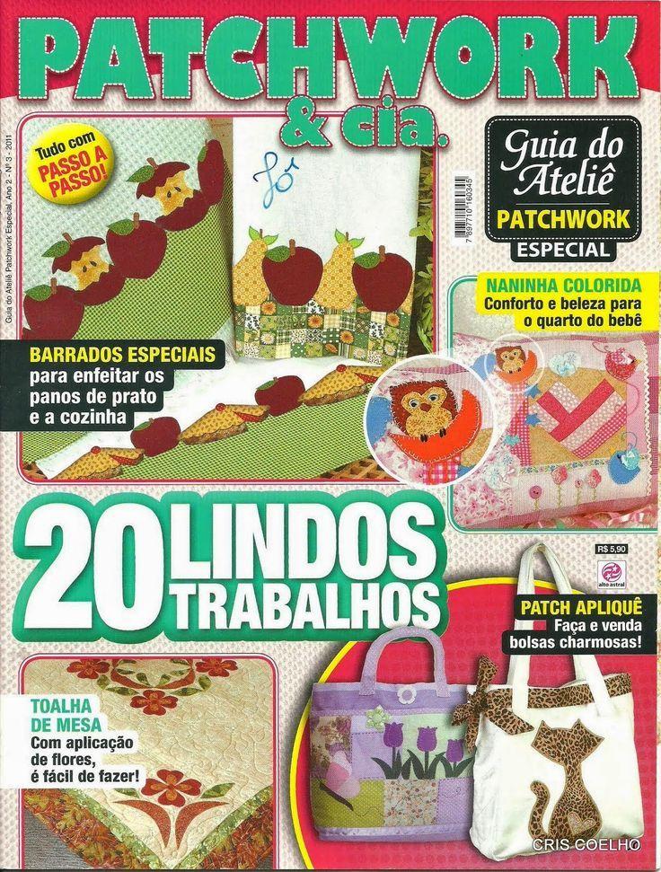 Revistas de manualidades Gratis: Patchwork para la cocina