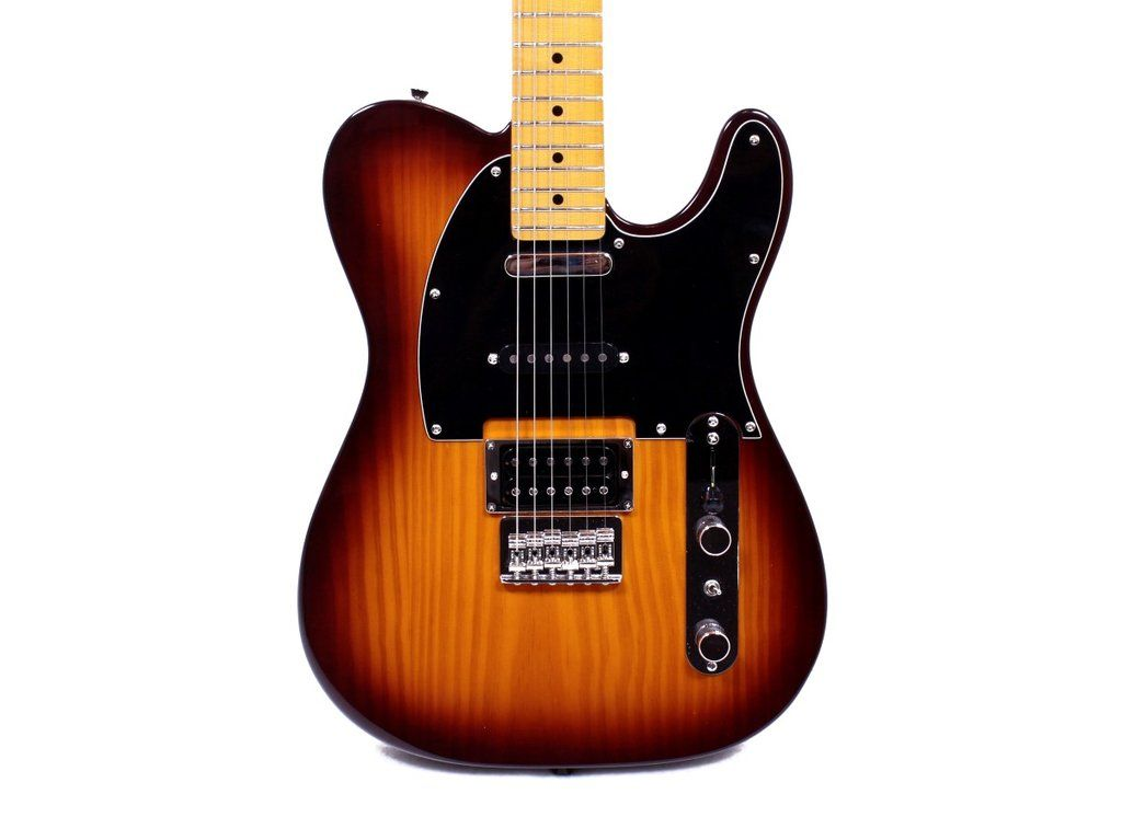 Fender Modern Player Telecaster Plus Hss Honey Burst Electric Guitar Electric Guitar Telecaster Guitar