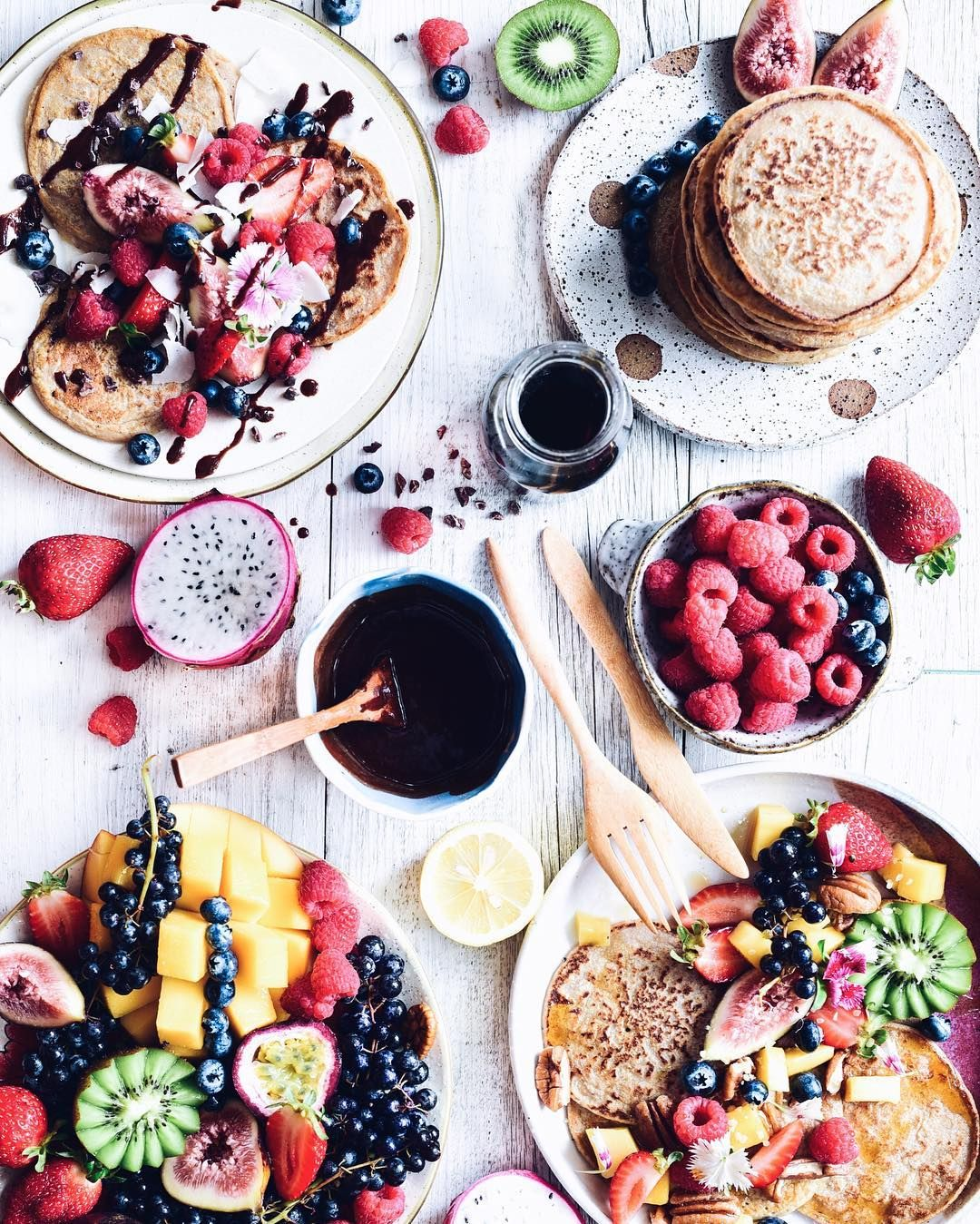 Happy Mother's Day  treat her to a big wholesome pancake spread    recipe on the @volcomwomens_oz blog!  #foodie_features by elsas_wholesomelife