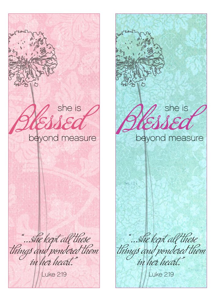 Mothers Of The Bible Bookmark Printable Mother S Day