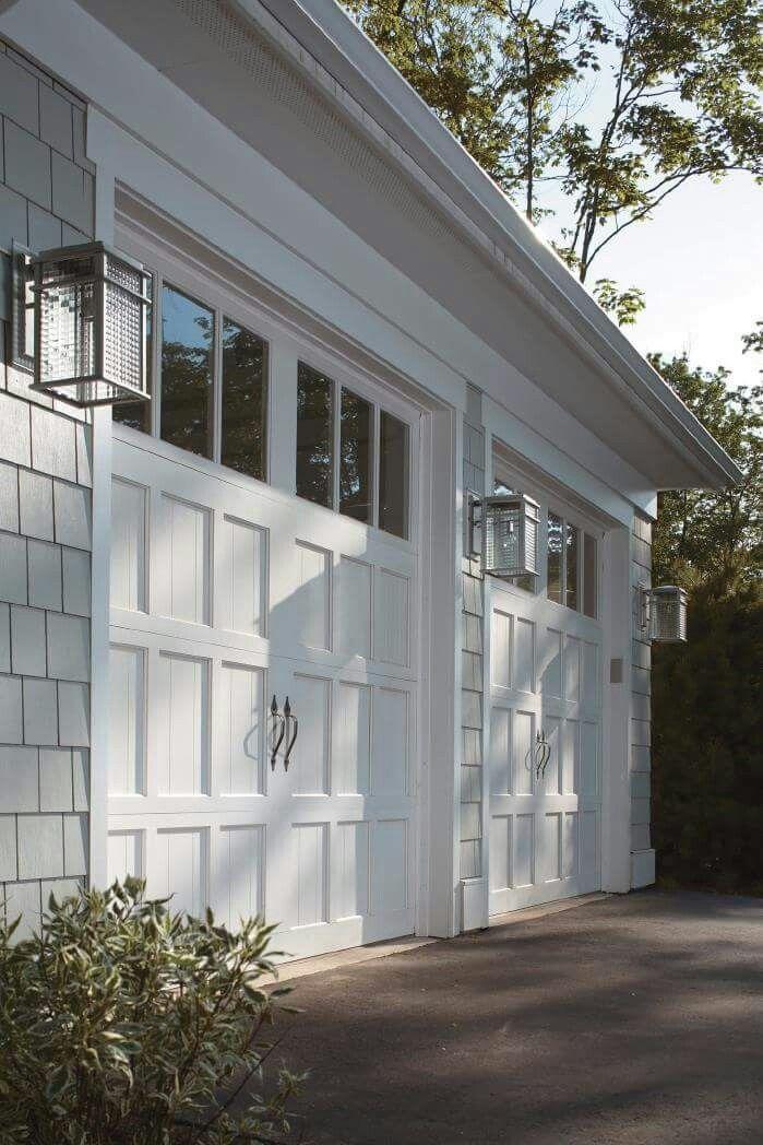 Porte de garage en bois Garage Pinterest Garage doors, Doors