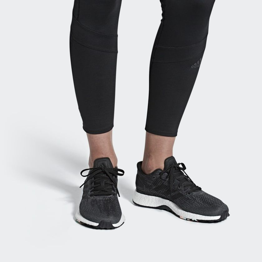 140 Adidas Pureboost Dpr Shoes Black B75669 Adidas Women Adidas Pure Boost Black Adidas