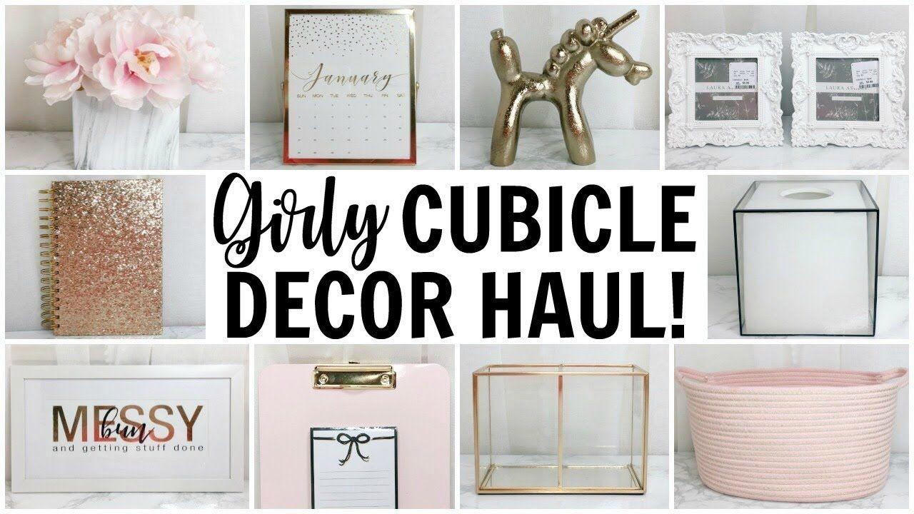 Girly Cubicle Amp Office Decor Haul Homegoods Tj Maxx