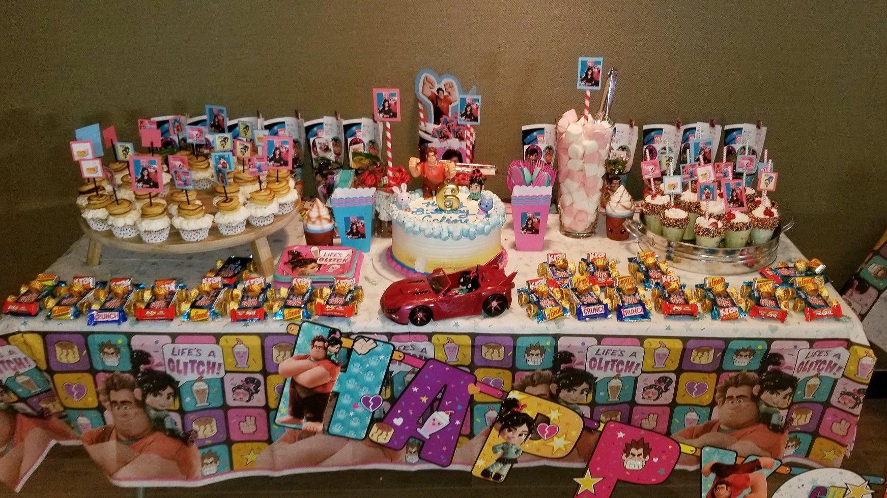 Ralph Breaks The Internet Birthday Party Peanuts Birthday Kids Birthday Party Kids Birthday