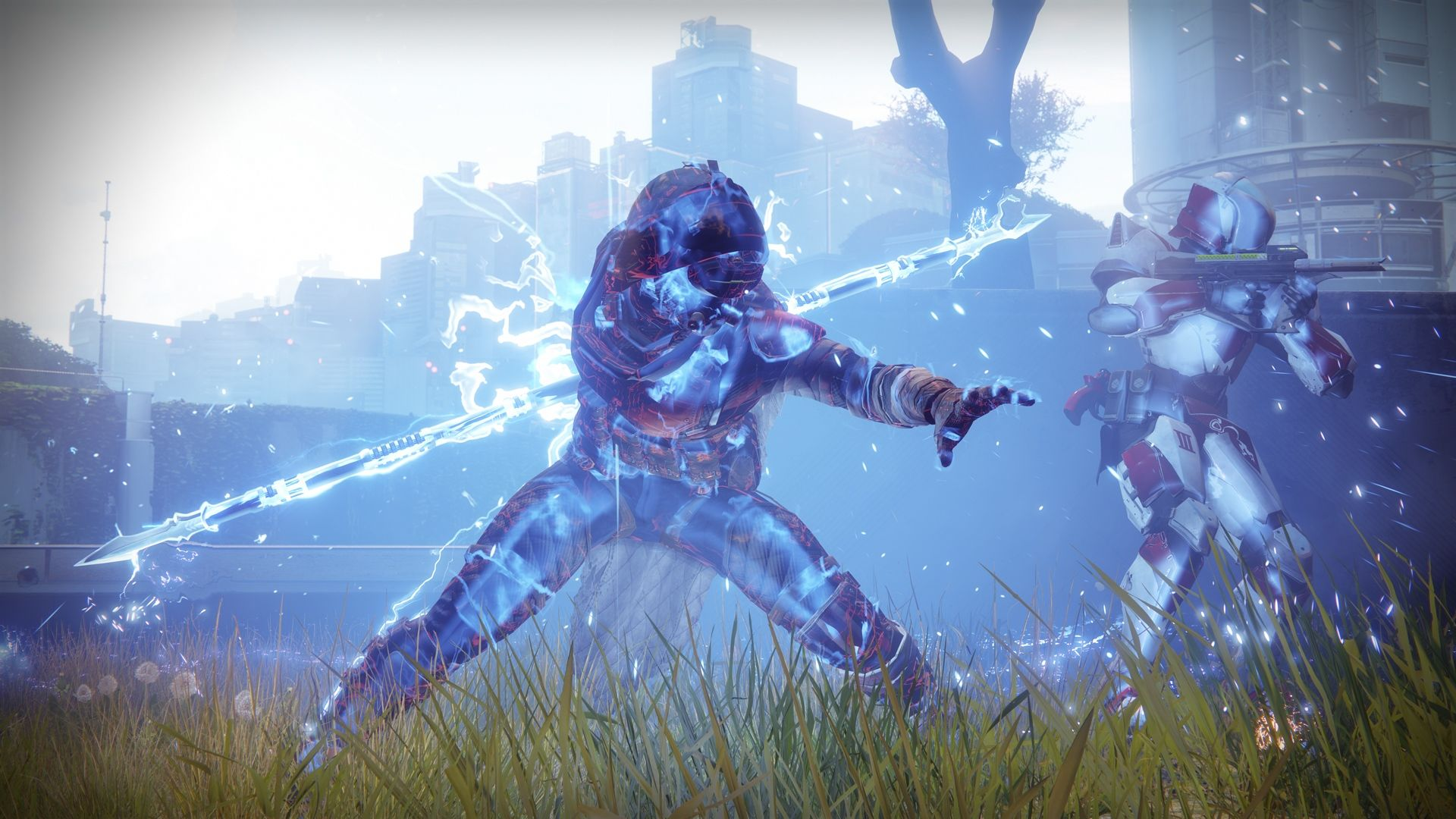 Nice Destiny 2 Arcstrider Hunter Guardian 1920x1080 Wallpaper