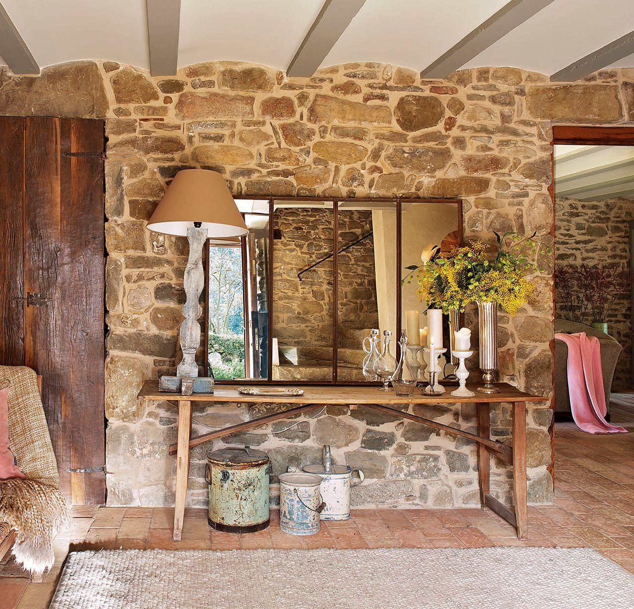 Y las piedras se convirtieron en una casa rústica | Estilo francés ...