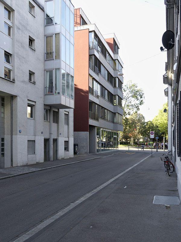 Hohlstrasse 78, Zurich, By Peter Märkli