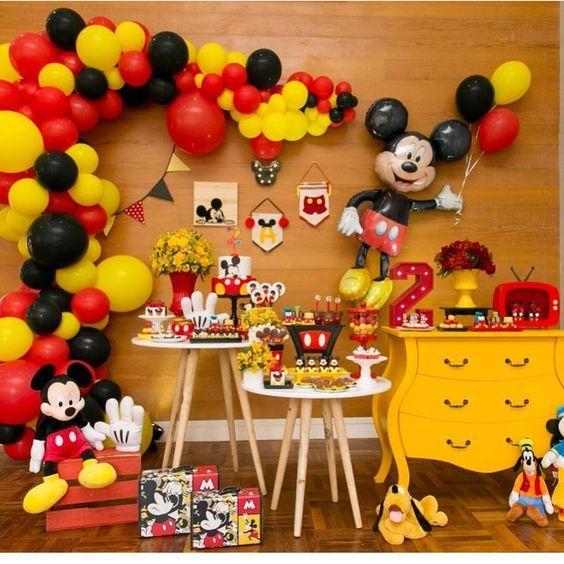 Fiesta De Mickey Mouse Temas Para Fiestas Infantiles De Nino