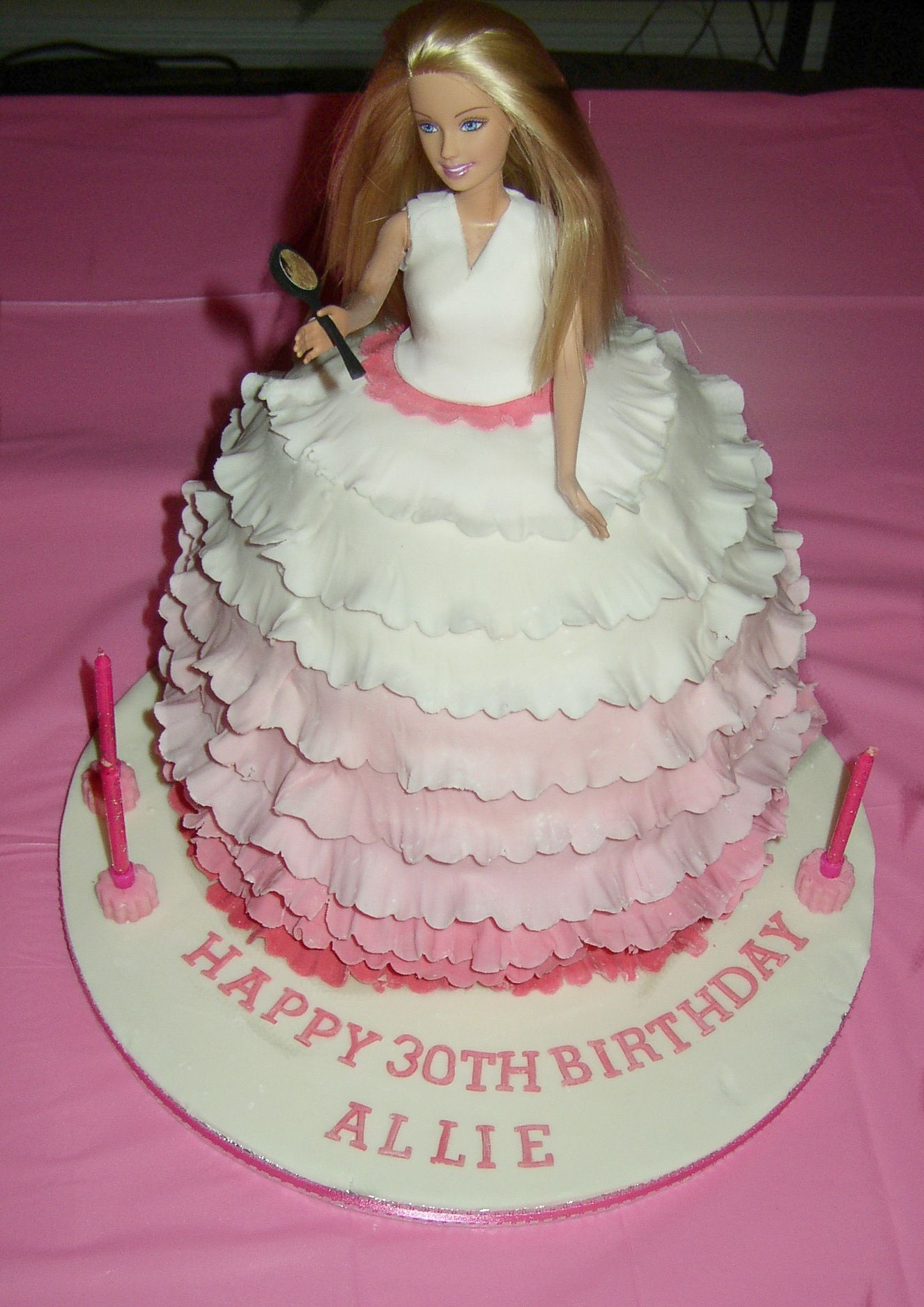 Click Here To Download In HD Format  Barbie Doll Wallpapers - Birthday cake doll designs