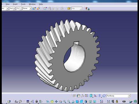 Gear - Part Design / Assembly Design / Generative Shape
