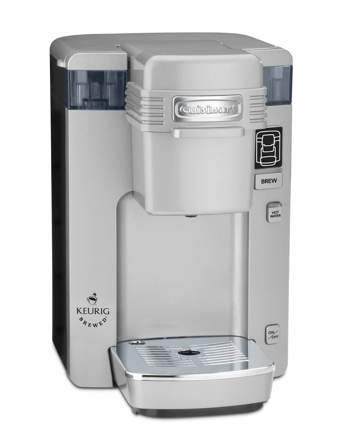 Cuisinart Ss 300 Single Serve Brewing System Silver Powered By