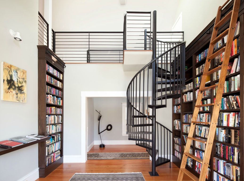 Modern Home Library Decorating Ideas Home Library | Bookshelves ...