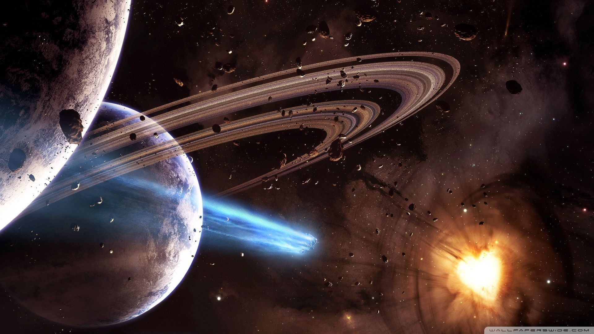 space planets and universe best desktop hd wallpapers high resolution desktop wallpapers pack best space planets and universe wallpapers collection