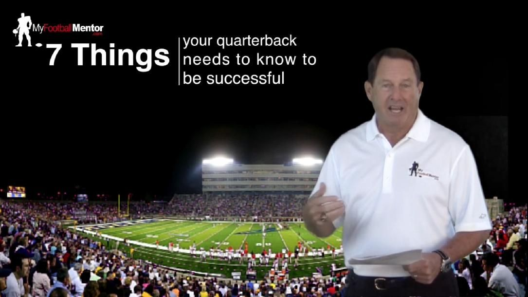 7 Things Every Qb Needs To Know To Be Successful By My Football Men Success Football Need To Know