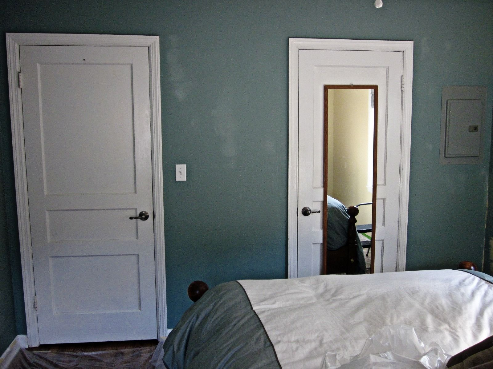 Behr Cloud Burst Master Bedroom Smoked Oysters Behr