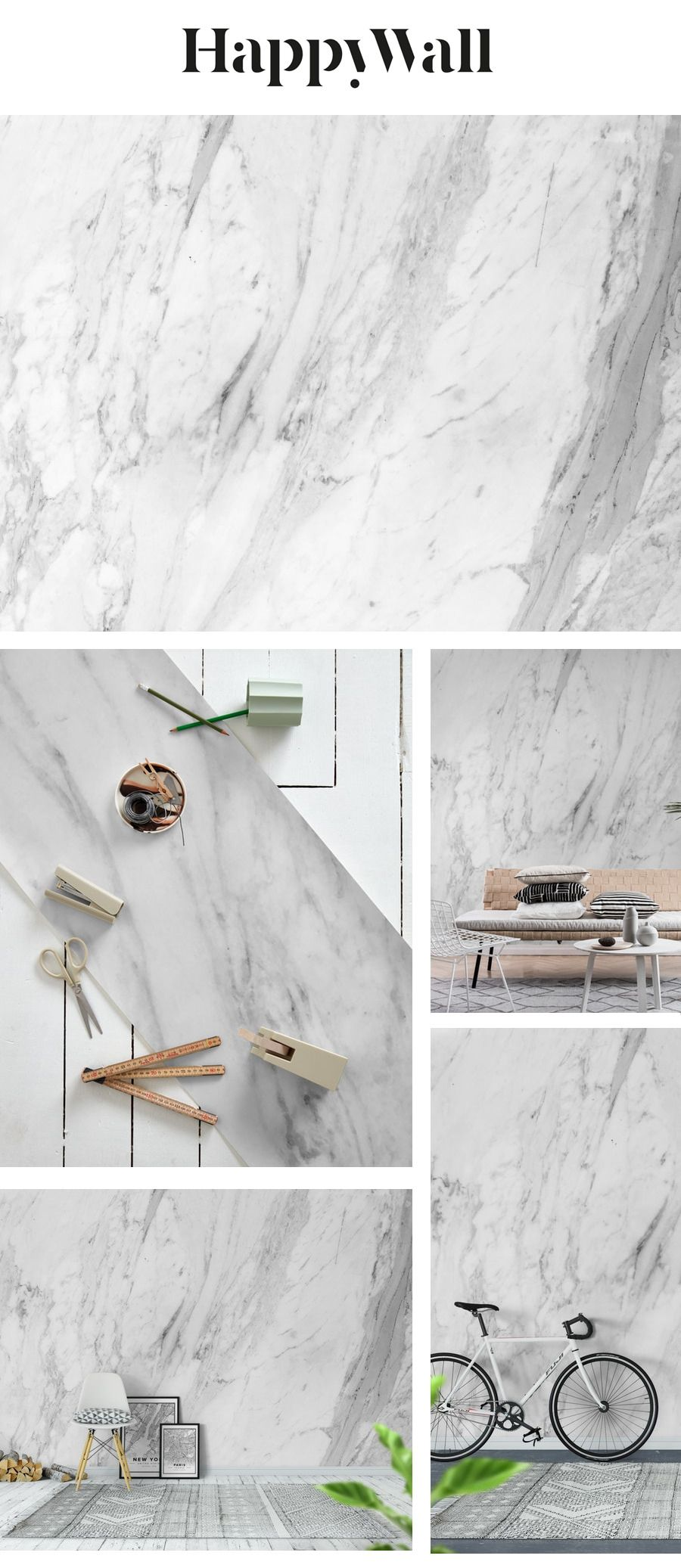 Marble surface wall mural from Happywall #marbled #stone #marblerosegold #marbleglitter #smooth #marbleglam #white #marblegeo #wallmural #black #marblesky #surface #marbleabstract #granite #counter #marbletexture #marbledesign #marble #wallpapers #wallmurals #happywall #and #wallpaper #marblestripes #marblevibe