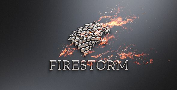 Flame & Metal / Fire Logo Reveal | Fonts and Logos
