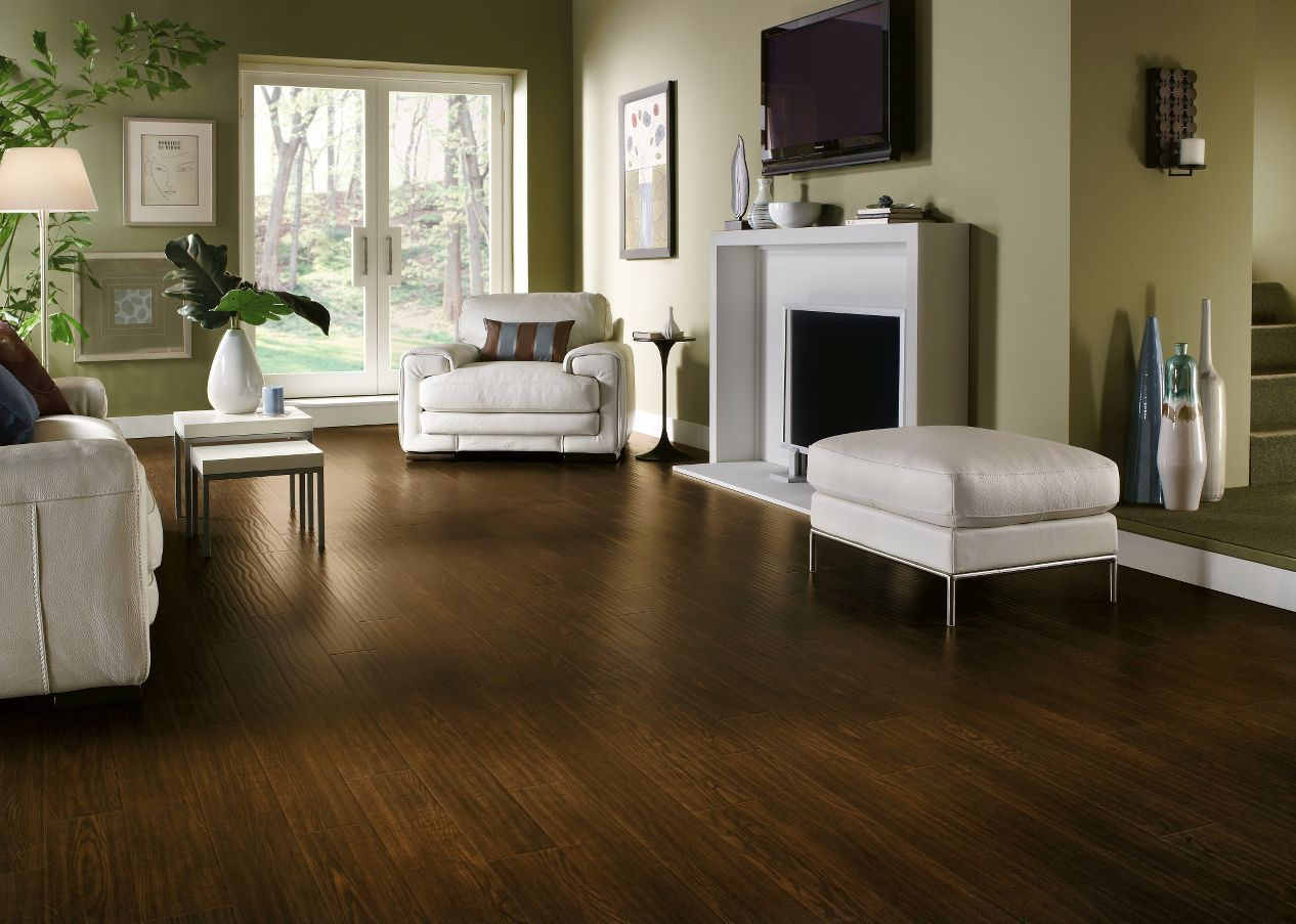 Homestead Plank Roasted Grain | Laminate Flooring | Home Renovation | Home Inspiration |