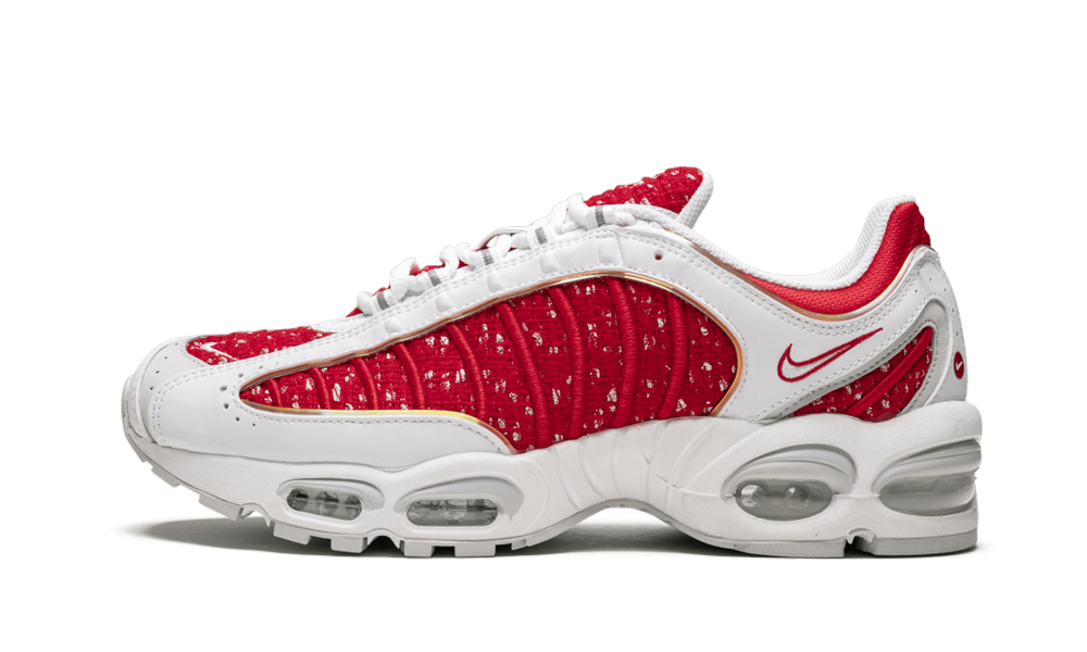 Nike Air Max Tailwind 4 S Supreme White Red At3854 100 2019 Nike Air Tailwind Nike Air Nike Air Max