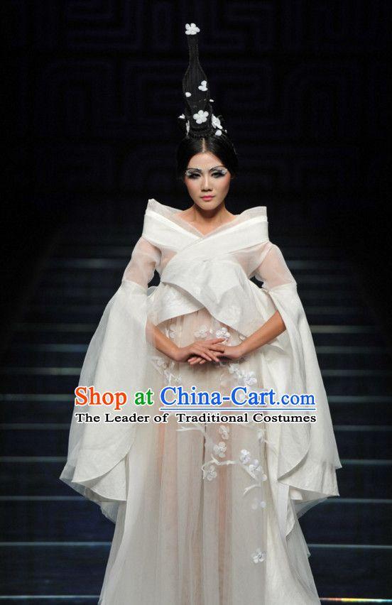 Asian Chinese Fashion Custom Tailored Make Made To Order Style Fantasy Professional Wedding DressesFantasy