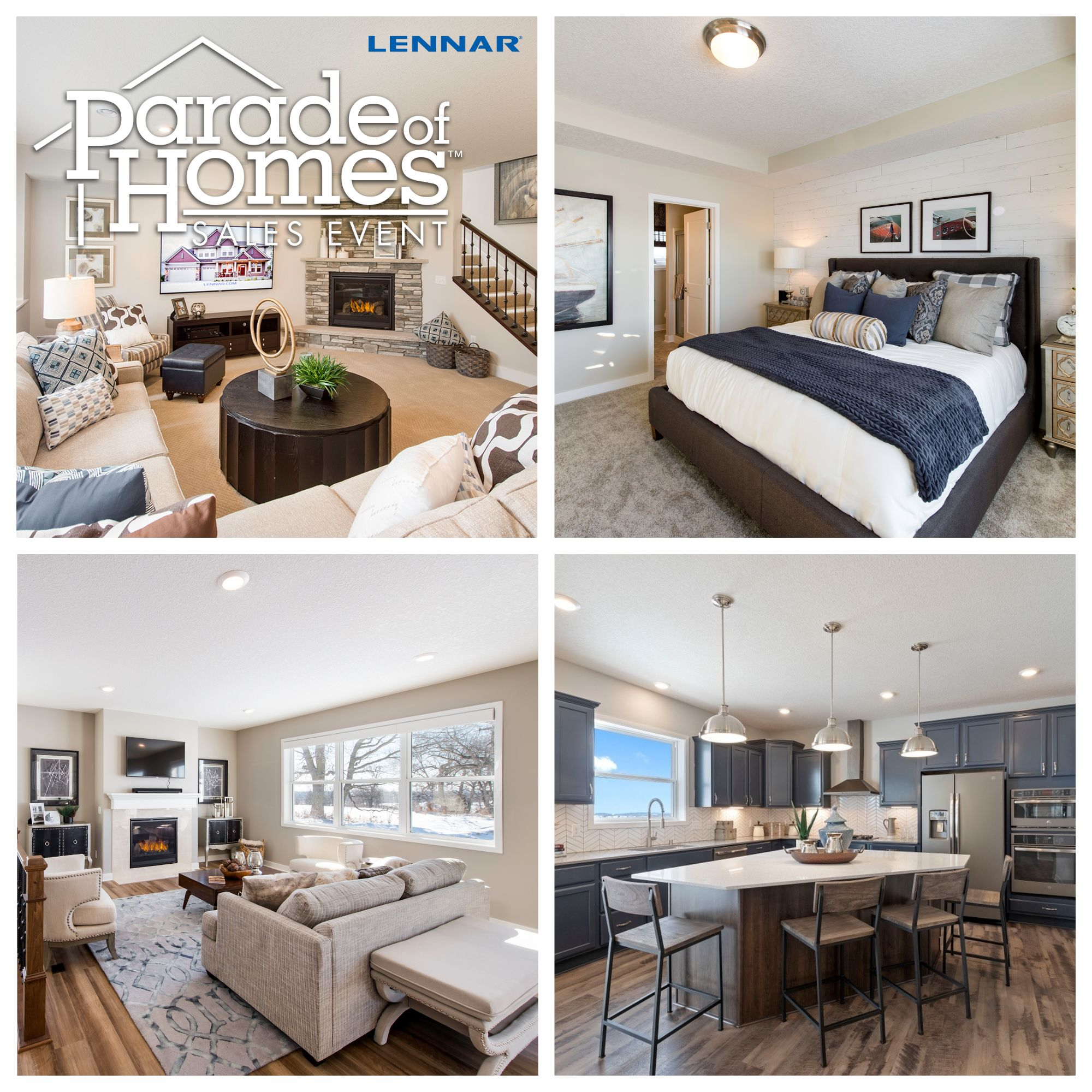 Parade Of Homes Come Check Out Lennar S Wide Variety Of Homes Minnesota Home New Home Builders New Home Construction