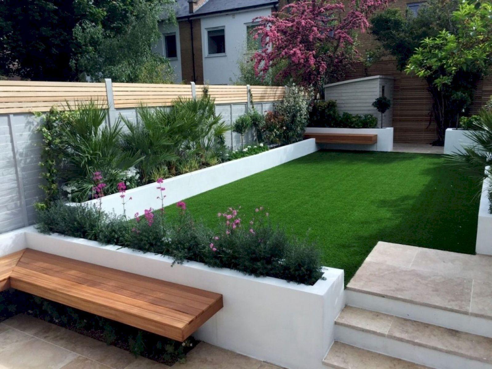 45 Minimalist Garden For Backyard Ideas In 2020 Modern Garden Landscaping Modern Garden Design Contemporary Garden Design
