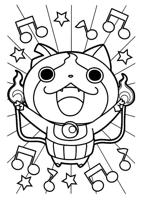 Coloriages Yo Kai Watch Dessins A Imprimer Coloriageyo In 2020