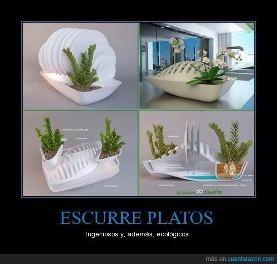 escurreplatos ecologico  fee5946f6e77