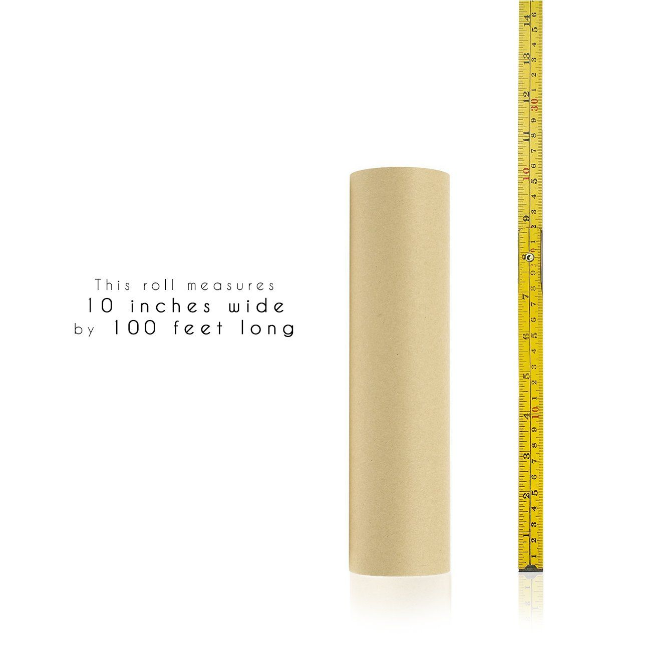 Kraft Paper Roll For Craft Gift Wrapping Packing Shipping 100 Feet Long Brown 10 X 1200 Inches Learn More By Visit Crafts Brown Paper Roll Craft Supplies