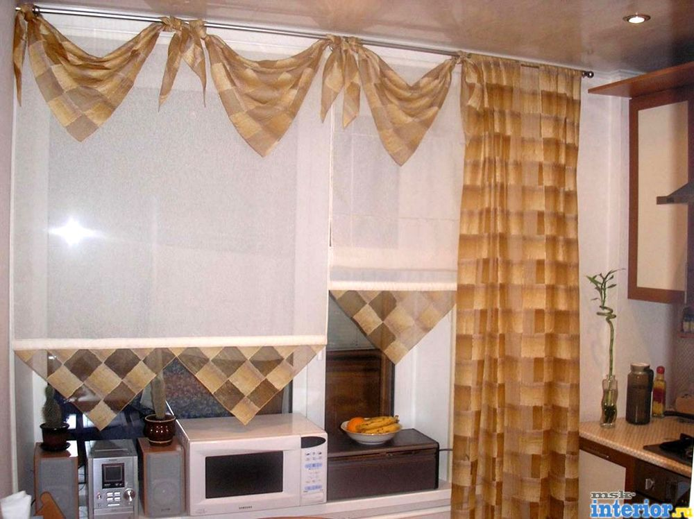Декор штор - оформление своими руками 80 фото идей