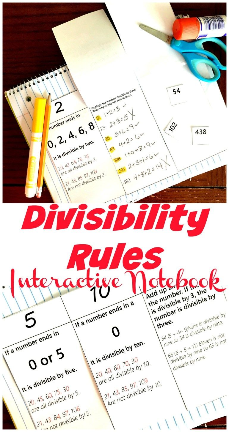 FREE HandsOn Divisibiltiy Rules Worksheet For 2, 3, 6, 5