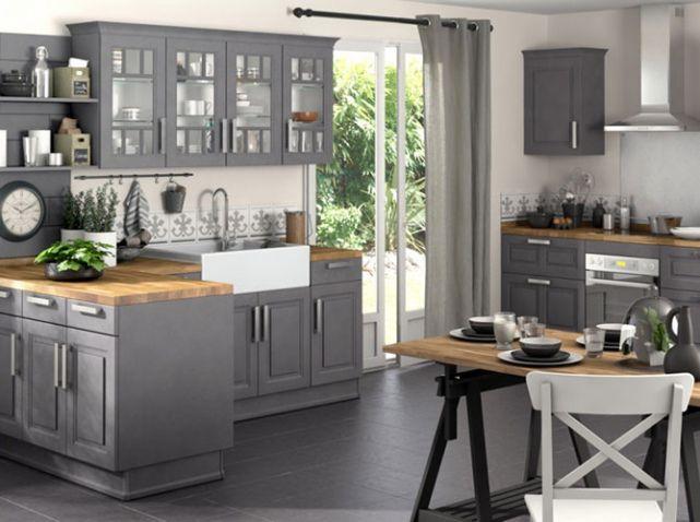Cuisines Lapeyre  sélection de modèles Kitchens, Smart storage