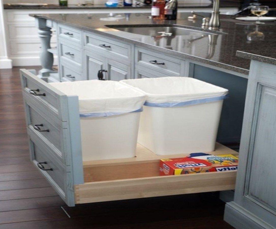Küche Abfalleimer Speicher  Küchendesign, Küchenrenovierung