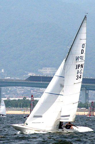【What's JIB】●JIBとは?●  〜夢と憧れの象徴〜    JIB(ジブ)は2枚(以上)帆のヨットの、前にある補助セイルの名前。JIBカンパニー理念と製品の中に息づいています。