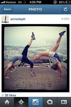 kyracole we should do a picture like this  gymnastics