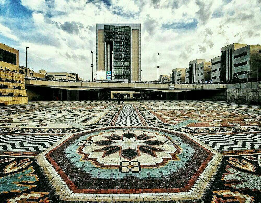 Largest Mosaic Carpet Of The World, Tabriz City, Iran -5204