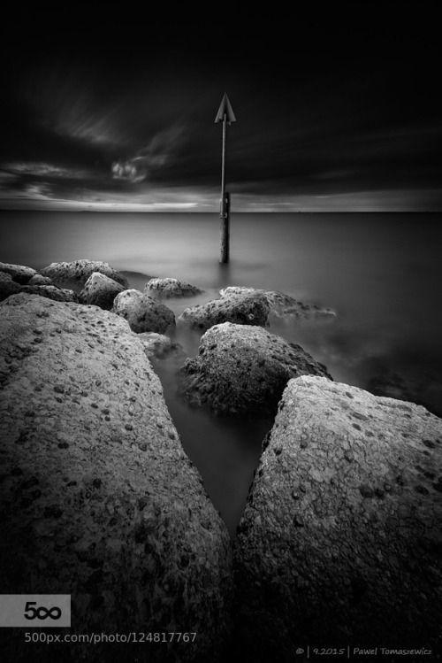 Poole  by PawelTomaszewicz  anglia b&w beach black black and white black&white bnw bournemouth case details dorset england expos