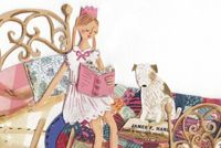 Princess and the Pea - Emma Block Illustration