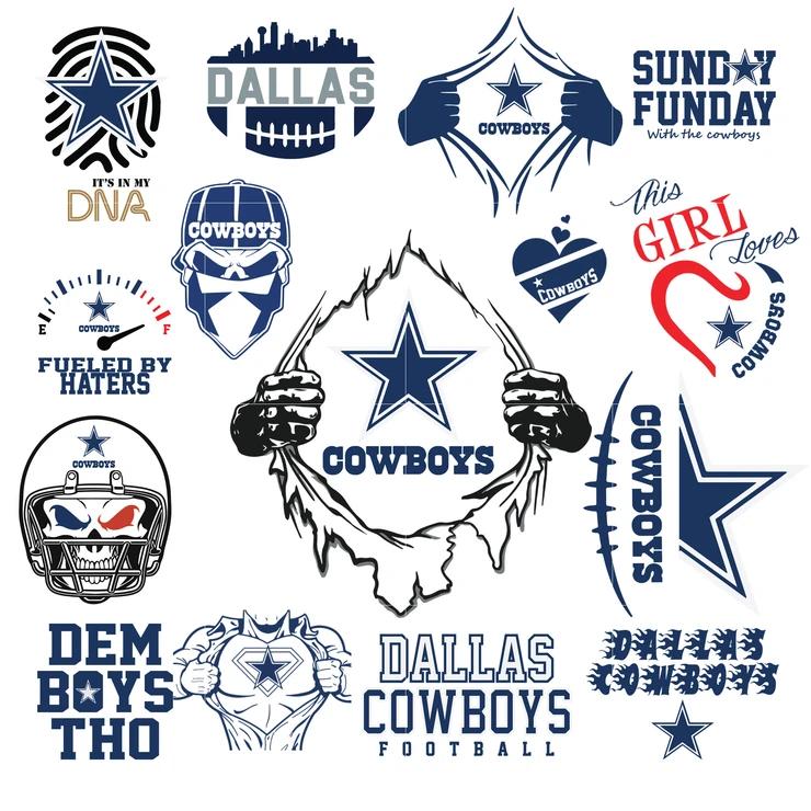 Download Dallas Cowboys - svg - png - pdf - eps - dxf vector files ...