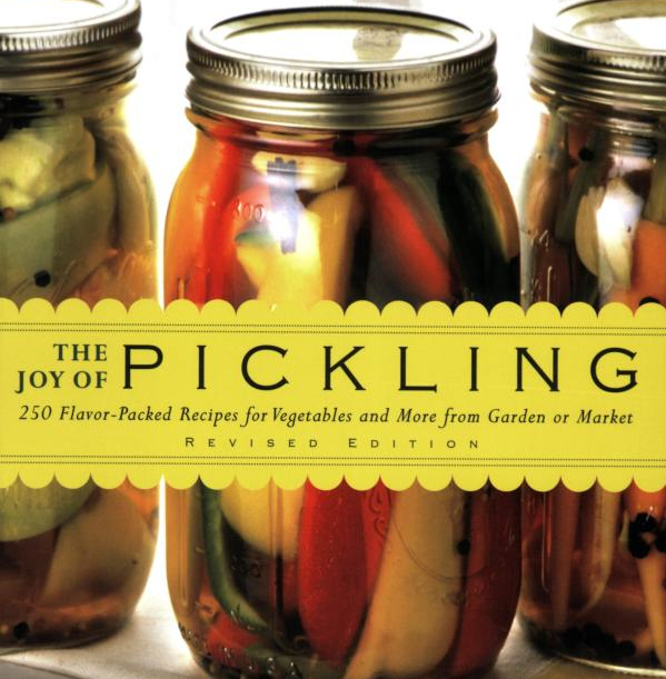 Different ways of pickling (and a book)