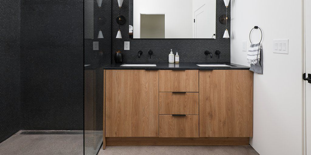 Stylish Modern Style Bathrooms With Godmorgon And Sektion In 2020